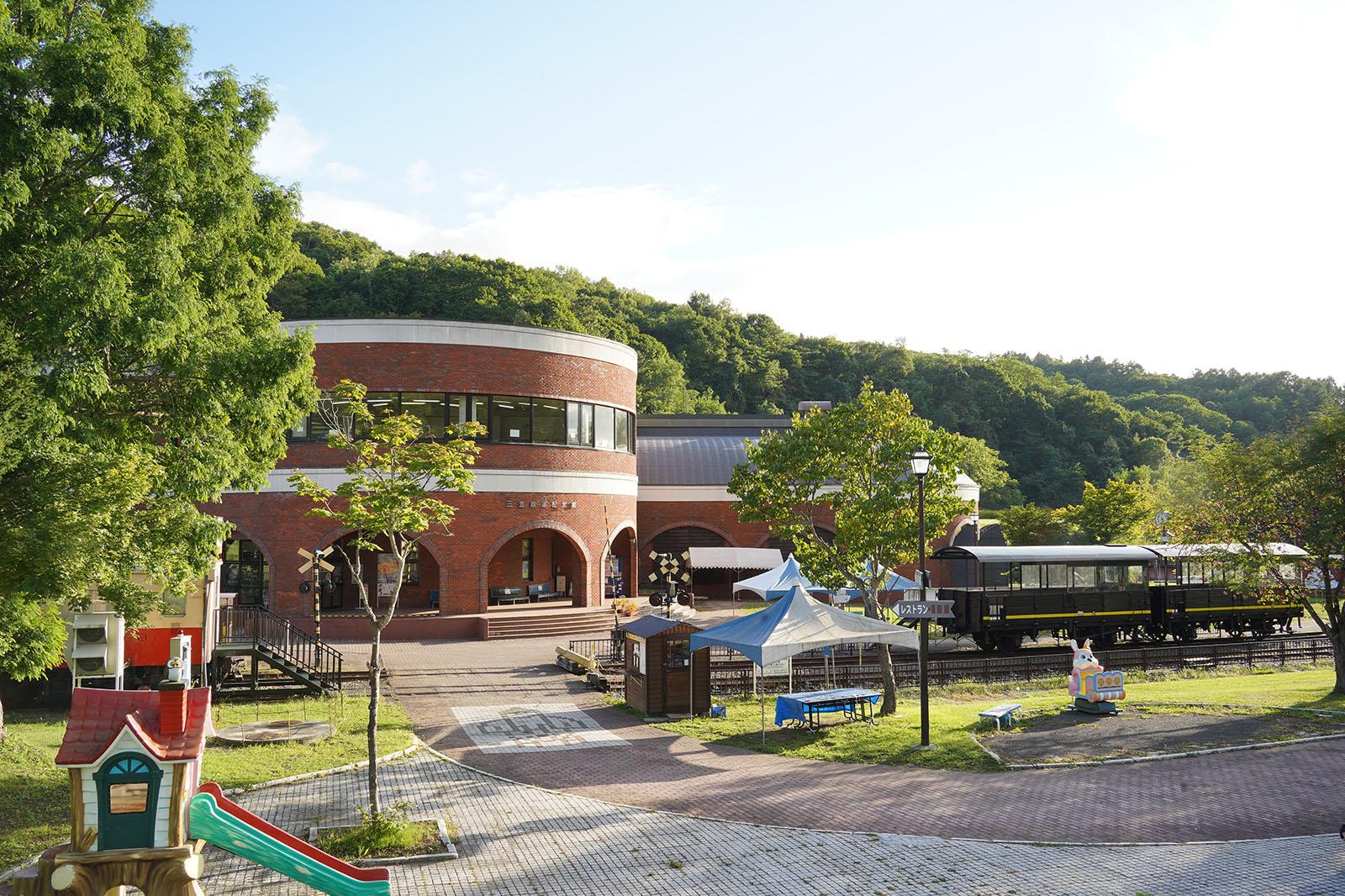 三笠鉄道記念館(三笠鉄道村)
